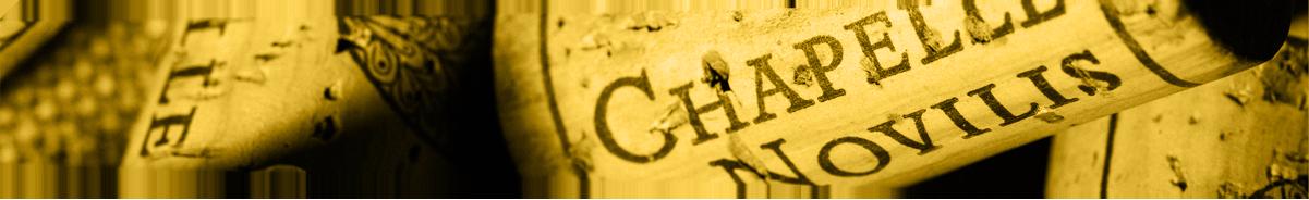 Bouchon de CHAPELLE de NOVILIS - VINS BIO COTEAUX D'ENSERUNE