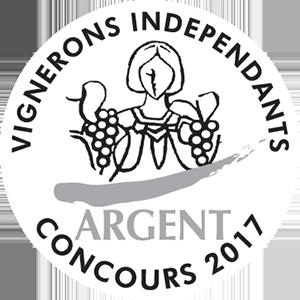 Vignerons indépendants - Médaille d'Argent 2017 - Chapelle de Novilis
