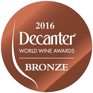 Médaille de Bronze, Decanter World Wine Awards 2016 : Chapelle de Novilis