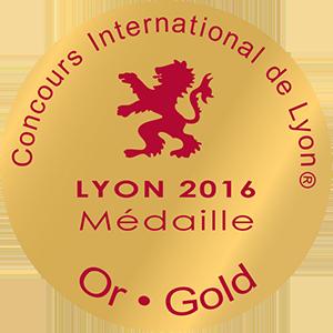 Médaille d'Or, Concours International de Lyon 2016 : Chapelle de Novilis
