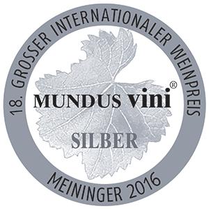 Mundus Vini Silver 2016 - Chapelle de Novilis