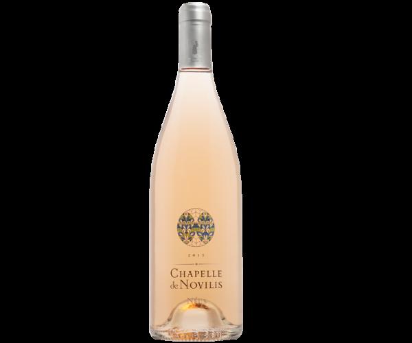 Vin rosé biologique