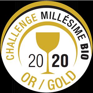 Challenge millésime bio - Médaille d'Or 2020 - Chapelle de Novilis