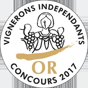 Vignerons Indépendants - Médaille d'Or 2017 - Chapelle de Novilis