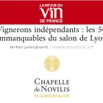 salon de Lyon the 50 unmissable winemakers at the Independant Wine Makets
