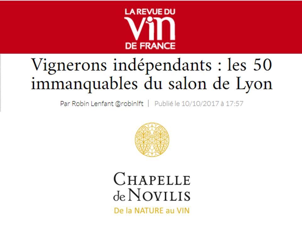 Vignerons ind pendants les 50 immanquables au salon de lyon - Salon des vignerons independants lyon ...