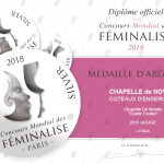 EVOLUS red 2015 SILVER MEDAL at the Féminalises 2018
