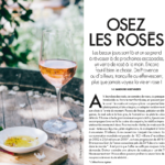 ELLE à TABLE magazine selects NEUS rosé