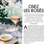 Le magazine ELLE à TABLE sélectionne NEUS rosé