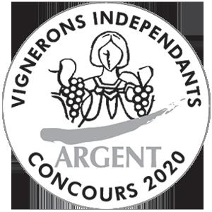 Médaille d'Argent Vignerons Indépendants 2020 - Neus rouge - Chapelle de Novilis