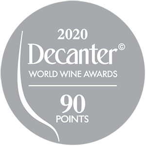 Médaille d'Argent Decanter World Wine Awards - 90 points - 2020 : Chapelle de Novilis