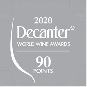 Médaille d'Argent Decanter World Wine Awards - 90 points - 2020 : Chapelle de Novilis