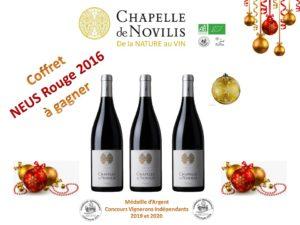 Concours de Noël CHAPELLE de NOVILIS