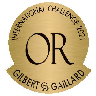 Gilbert & Gaillard, Médaille d'Or 2021