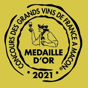 Médaille d'or - Concours Mâcon 2021